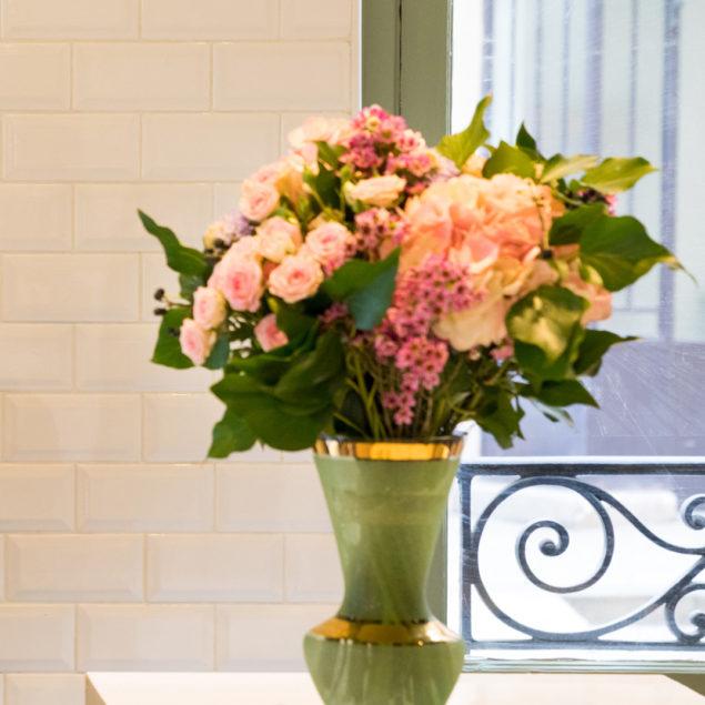 Une décoration végétale
